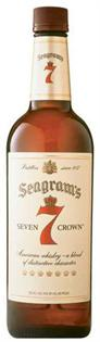 Seagram's 7 Crown Whiskey American Spiced 750ml
